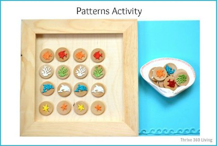 Pattern learning blue1