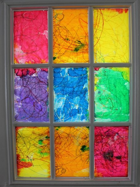 How To Create A Rainbow Stained Glass Window Lesson Plans