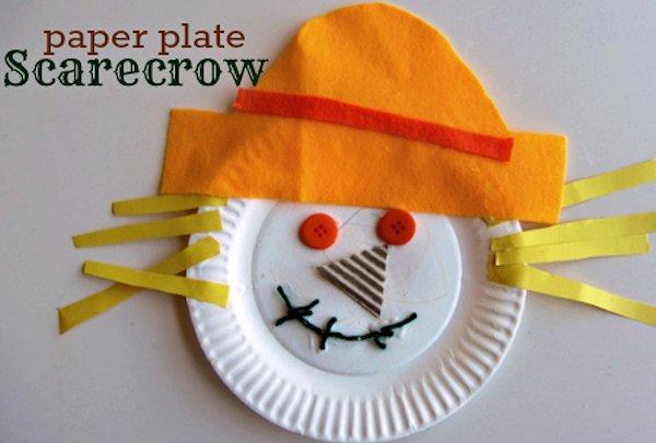 & Paper Plate Scarecrow Craft \u2013 Lesson Plans