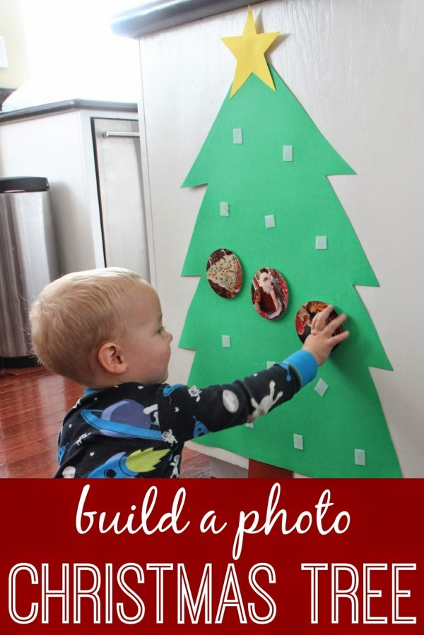 Photo christmas tree for babies and toddlers lesson plans for Christmas crafts for babies