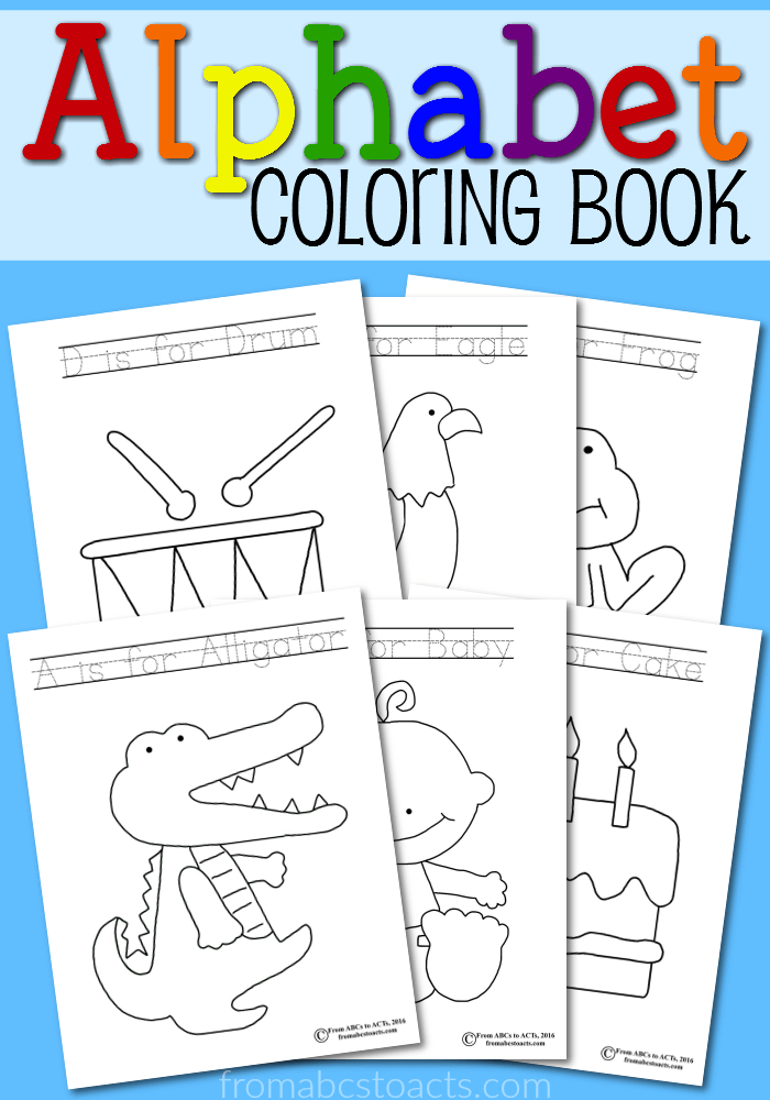 Abc Coloring Book Free Download To Color Why Not Throw A Little Learning Into Their